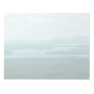 Lake and Mountain View Notepad