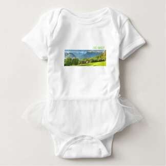 Lake Annecy Baby Bodysuit