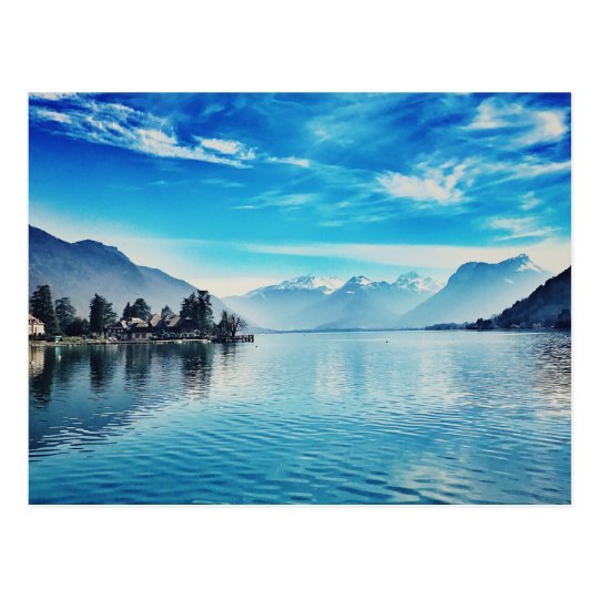 Lake Annecy - Baie de Talloires Postcard