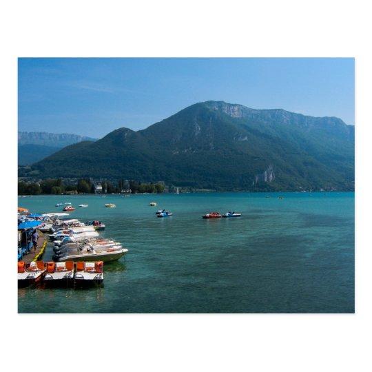 Lake Annecy, France - Postcard