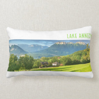 Lake Annecy Lumbar Pillow 33 cm x 53 cm