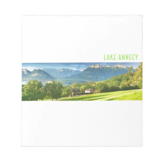 Lake Annecy Notepad