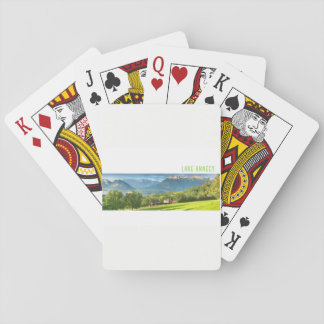 Lake Annecy  Playing Cards