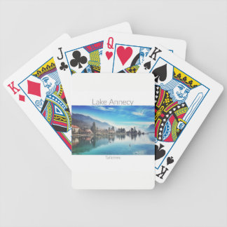 Lake Annecy - Talloires Playing Cards