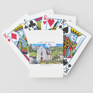 Lake Annecy - Veyrier Playing Cards