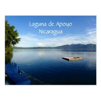 lake apoyo postcard