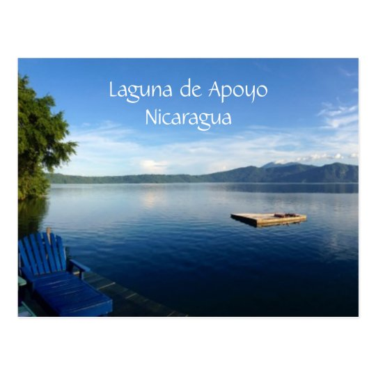 lake apoyo postcard