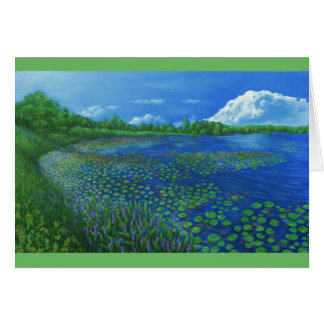 Lake Artemesia Greeting Card