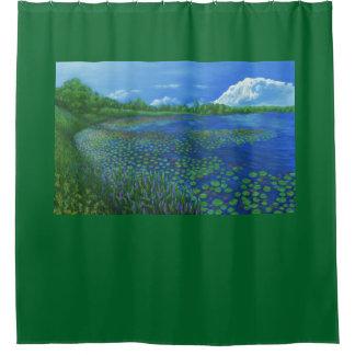 Lake Artemesia Shower Curtain