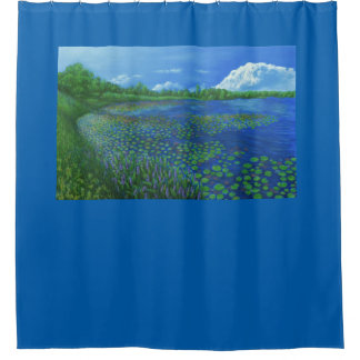 Lake Artemesia Shower Curtain