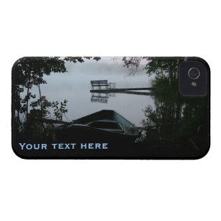 Lake at Night custom iPhone 4 Case-Mate