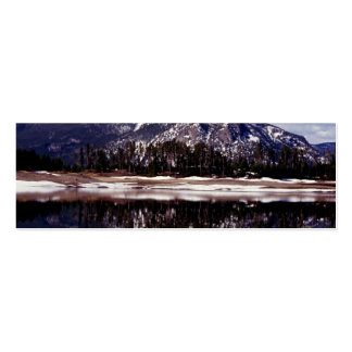 Lake at Rocky Mountains Colorado Business Cards