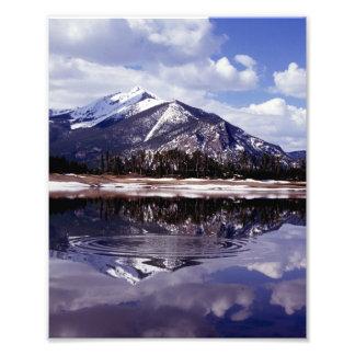 Lake at Rocky Mountains Colorado Photo Print