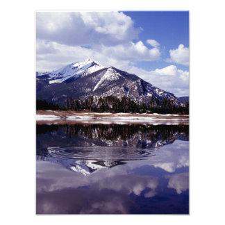 Lake at Rocky Mountains Colorado Photograph