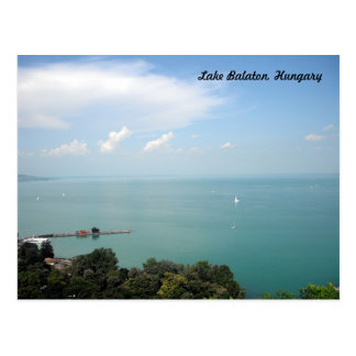 Lake Balaton, Hungary Postcard