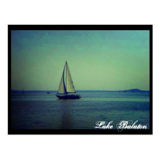 Lake Balaton Postcard