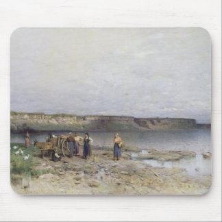 Lake Balaton with the Shore of Akarattya, 1885 Mouse Pad