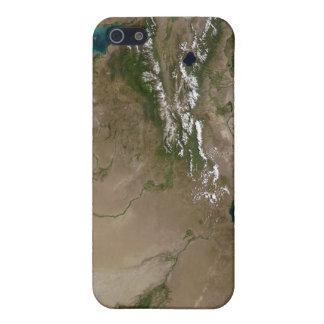 Lake Balkhash in eastern Kazakhstan iPhone 5 Covers