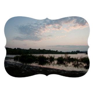 Lake before dawn invites