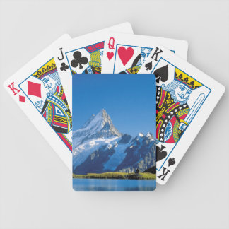 Lake beneath the summits bicycle playing cards