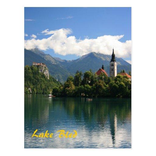 Lake Bled Post Card