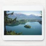 Lake Bled Slovenia Mouse Pad