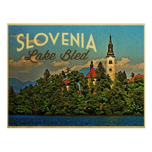 Lake Bled Slovenia Postcards