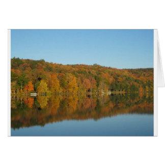 Lake Bomoseen, Vermont Greeting Card