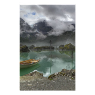 Lake Bondhus Norway Flyer Design