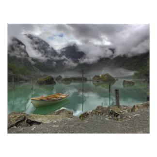 Lake Bondhus Norway Flyer