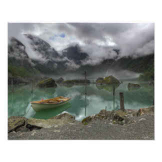 Lake Bondhus Norway Photographic Print