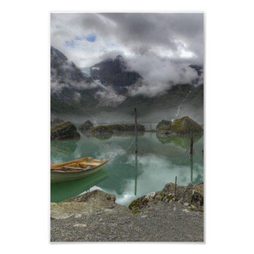 Lake Bondhus Norway Photo