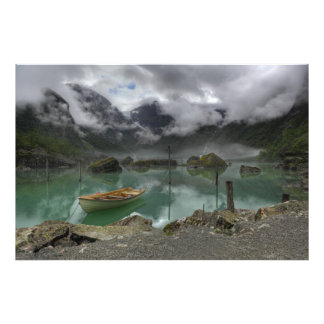 Lake Bondhus Norway Art Photo