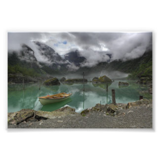 Lake Bondhus Norway Photo Print
