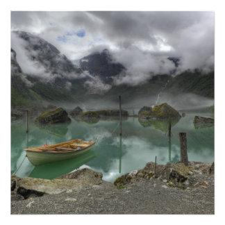Lake Bondhus Norway Photo Art