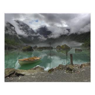 Lake Bondhus Norway Photograph