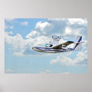 Lake Buccaneer Airplane Poster