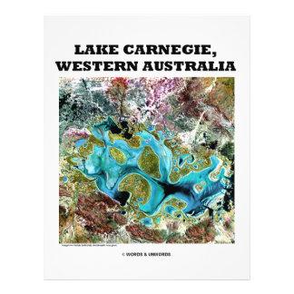 Lake Carnegie, Western Australia 21.5 Cm X 28 Cm Flyer