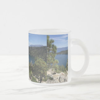 Lake Cascade In South Lake Tahoe Frosted Glass Mug