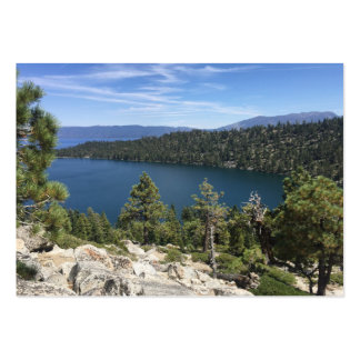 Lake Cascade In South Lake Tahoe Pack Of Chubby Business Cards