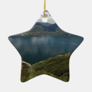 Lake Ceramic Star Decoration