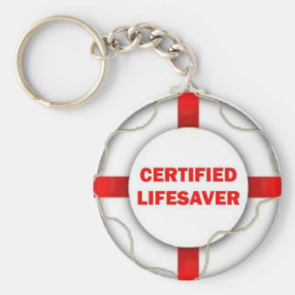 Lake Certified Lifesaver Key Ring