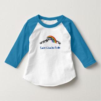 Lake Charles Pride Kid's T-shirt (rainbow)