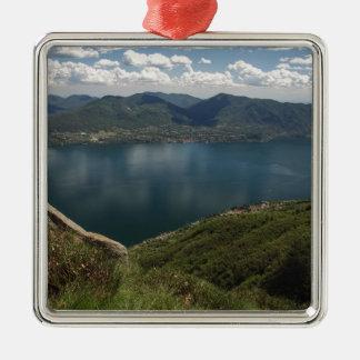 Lake Christmas Ornament