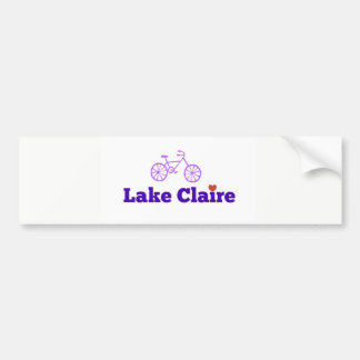 Lake Claire Bumper Sticker