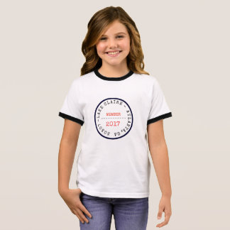 LAKE CLAIRE KID'S T. RINGER T-Shirt