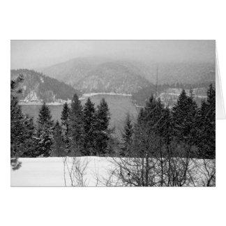 Lake Coeur d'Alene Greeting Card