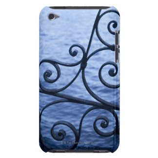 Lake Como, detail, view of walkway iron railing iPod Case-Mate Cases
