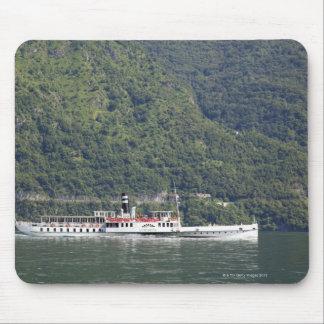 Lake Como, ferry boat Mouse Mat