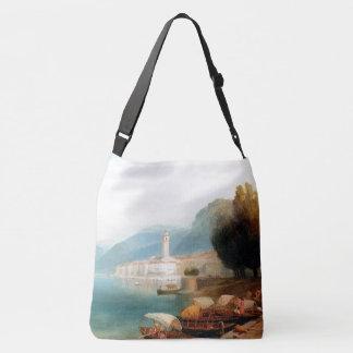 Lake Como Italy Boats Church Tote Bag